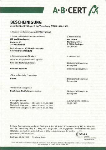 ABCERT-Zertifikat